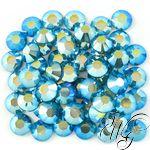 Swarovski Crystal Color Blue Zircon AB