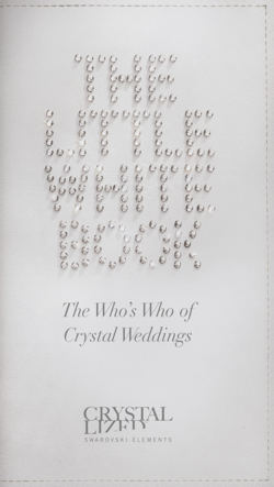 Toppers With Glitz in Swarovski's Little White Book